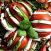 Caprese Salat Hasselback Style