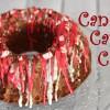 Candy Cane Cake als Geschenk