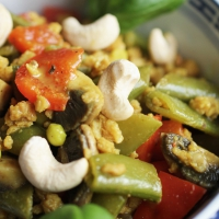 Vegetarisches Gemüsecurry - Grundrezept