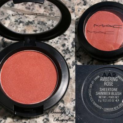 MAC Blush Ambering Rose