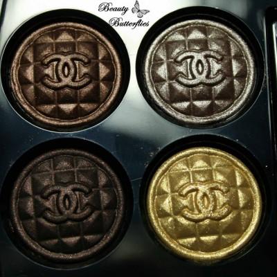 Chanel Byzance: Topkapi Eyeshadow Quad