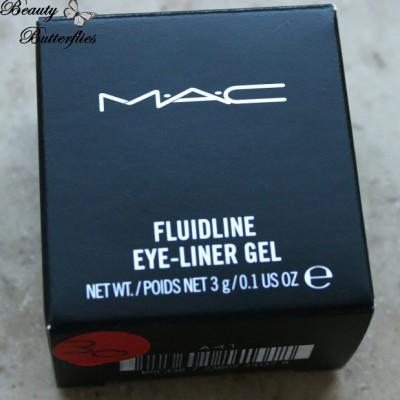 MAC me over Fluidline Eye-Liner Gel Midnight Blues