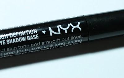 [Review]  NYX HD High Definition Eye Shadow Base