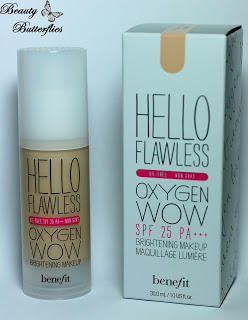 [Preview] Benefit – Hello Flawless Oxygen Wow Brightening Makeup