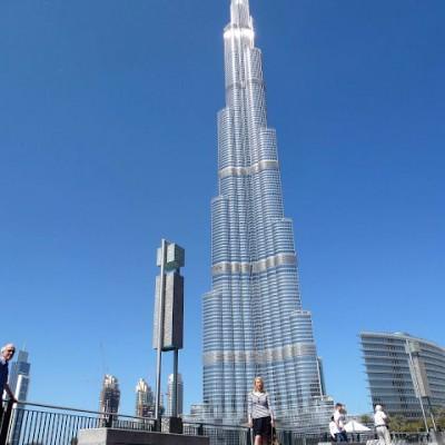 [Urlaub] Burj Khalifa – Das höchste Bauwerk der Welt und andere Rekorde……