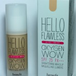 [Review] Benefit – Hello Flawless Oxygen Wow Brightening Makeup