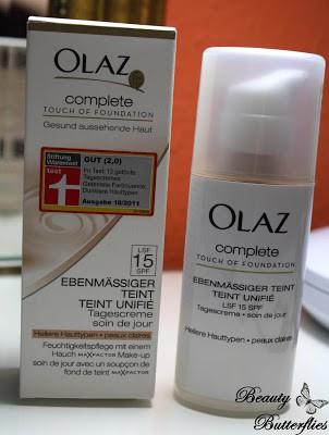 [Review] Olaz Complete Touch of Foundation und Pflegende Reinigungsmilch