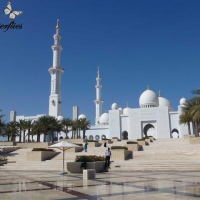 [Urlaub] Abu Dhabi – Schaich-Zayid-Moschee