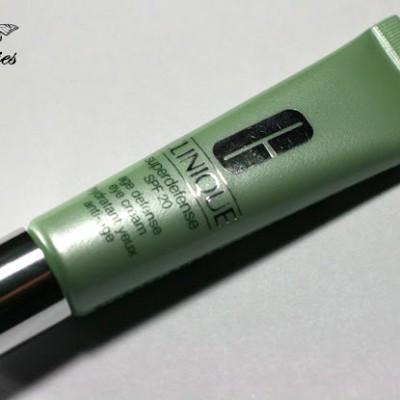 [Review] Clinique – Superdefense SPF 20 Age Defense Eye Cream