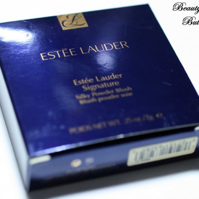 "[Review] Estée Lauder Signature Silky Powder Blush ""Peach Nuance"""