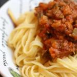 Pasta mit Zucchini – Parmaschinken – Bolognese