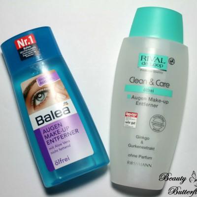 [Vergleich] Augen Makeup Entferner: Balea vs. Rival de Loop