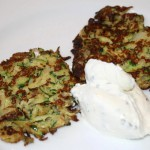Zucchini-Puffer (Low Carb)