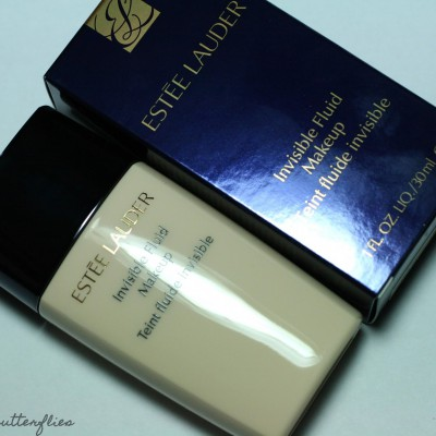 [Review] Estée Lauder – Invisible Fluid Makeup