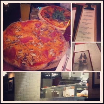 [Hannover isst] l'Osteria – Ein Wagenrad Pizza bitte !