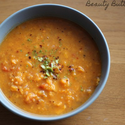 Süßkartoffel-Limetten-Suppe