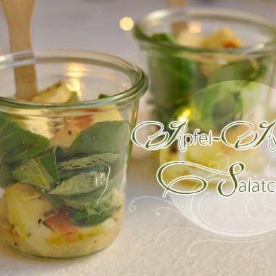 Apfel-Avocado Salatcups von She Likes