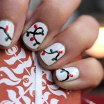 "Christmas Countdown – Nail Design ""Lichterkette"""