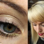 Christmas Countdown – Festlicher Look in Gold und Rot