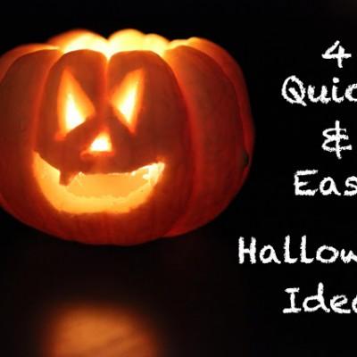 4 Quick & Easy Halloween Ideas – Fledermäuse, Kürbisse und viel Blut