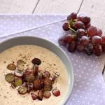 Knoblauchsuppe mit Weintrauben (Low Carb)
