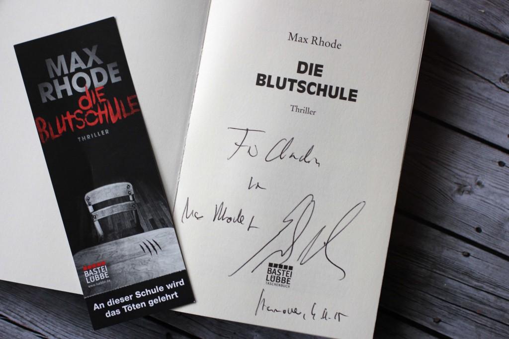 3 Die Blutschule - Max Rhoda aka Sebastian Fitzek