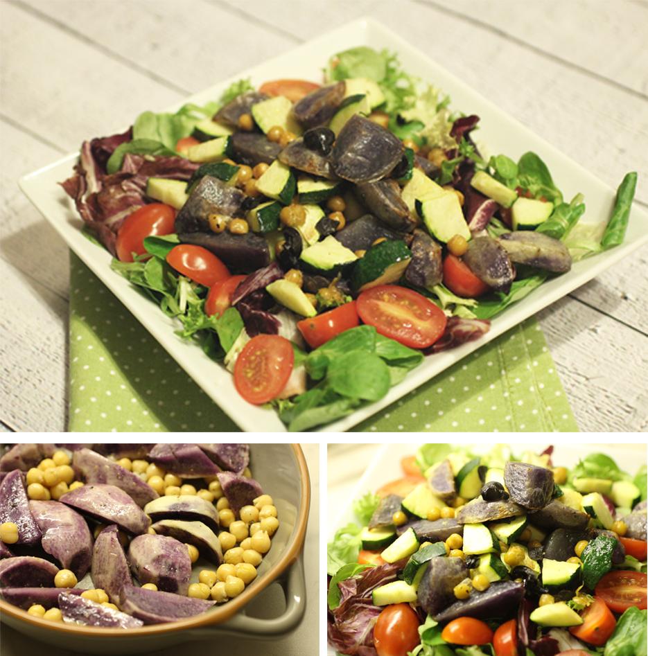 II 5 Schnelle Feierabendgerichte - Kalt Warmer Salat