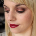 Very Berry Look – MAC Burgundy Times 9 & Clinique Pop Lip Color