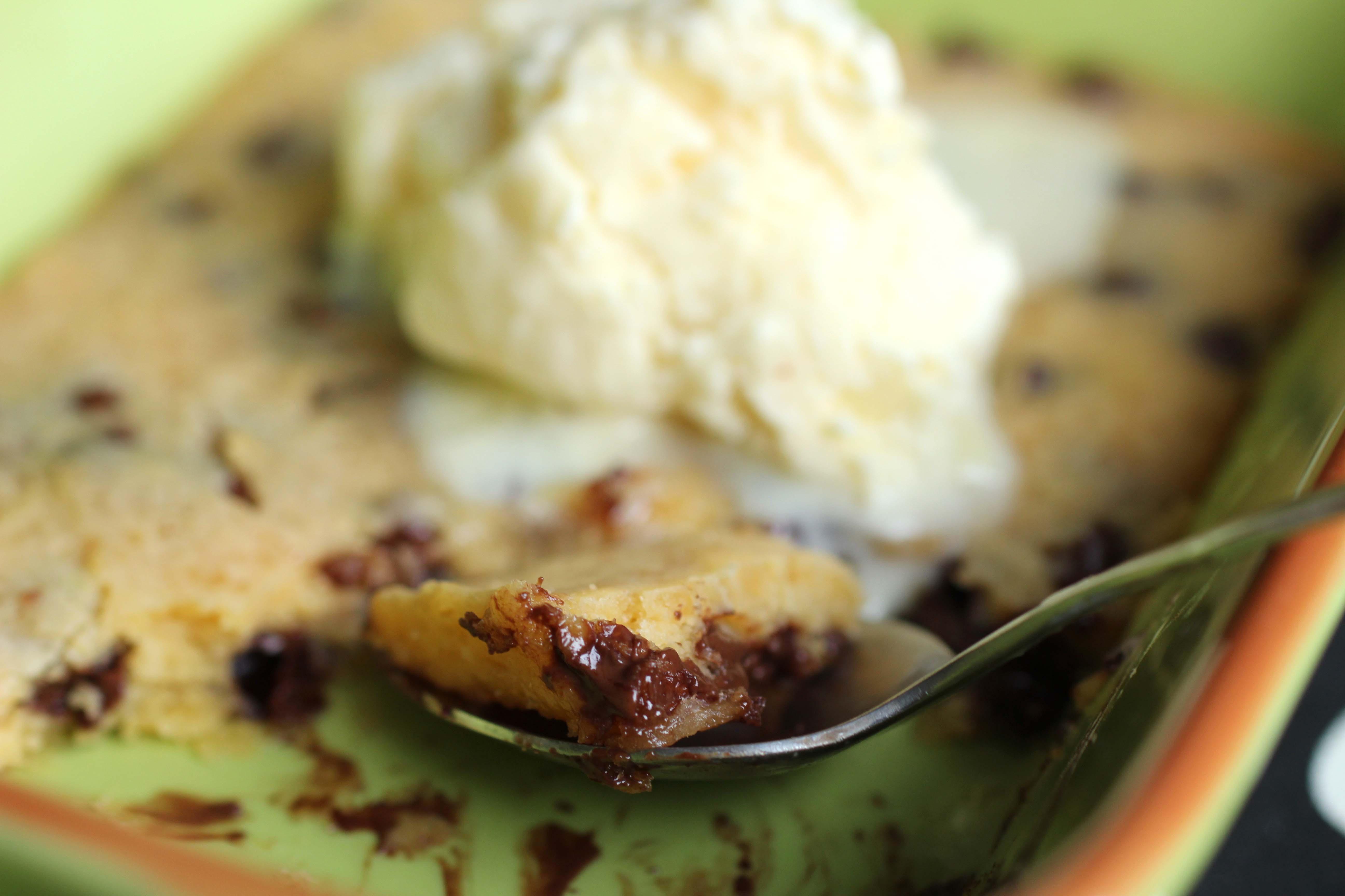 Rezept Recipe Pizza Hut Cookie Dough mit Eis 2