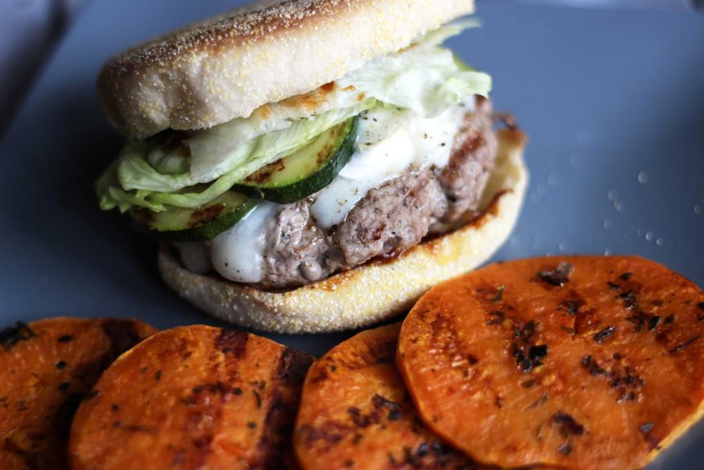 Rezept Ziegenkaeseburger mit Suesskartoffeltaler_12