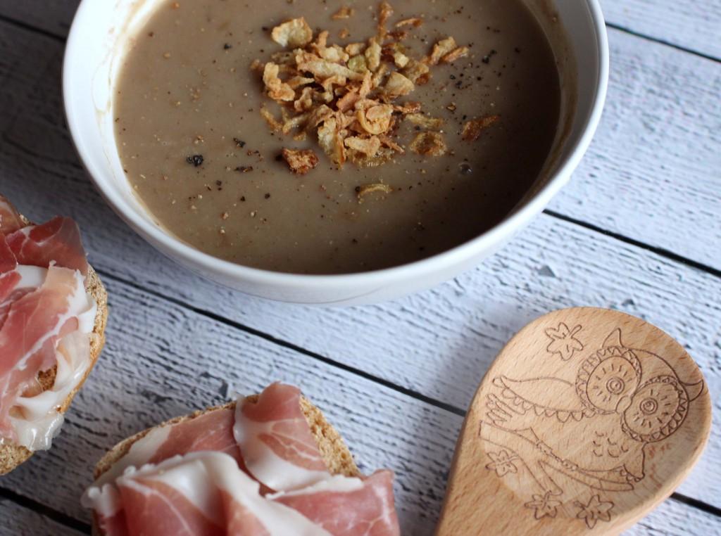 suppe kürbis maronen