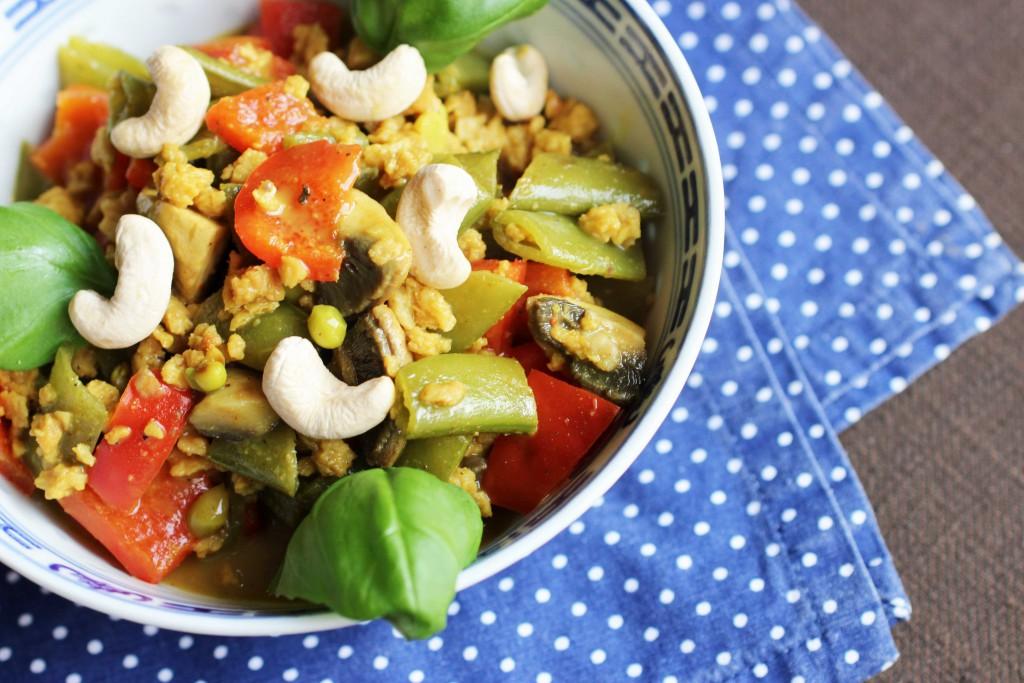 Rezept für Vegetarisches Curry Veggie 1