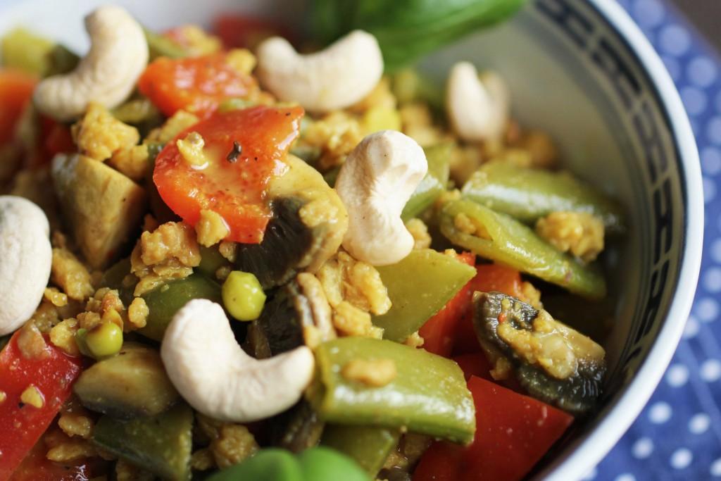 Grundrezept für Vegetarisches Curry Veggie 2