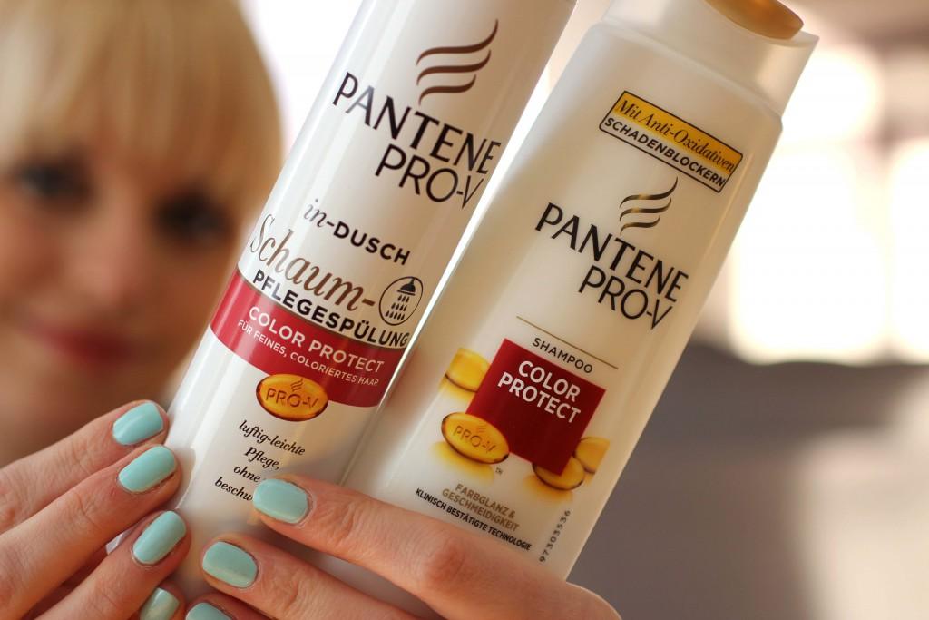 Pantene Pro-V Color Protect Schaum-Pflegespuelung