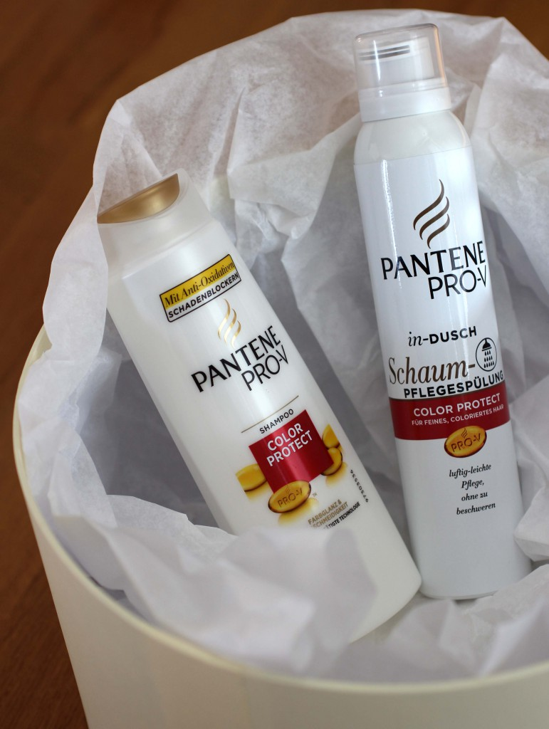 Pantene Pro-V Color Protect Schaum-Pflegespuelung Review 2