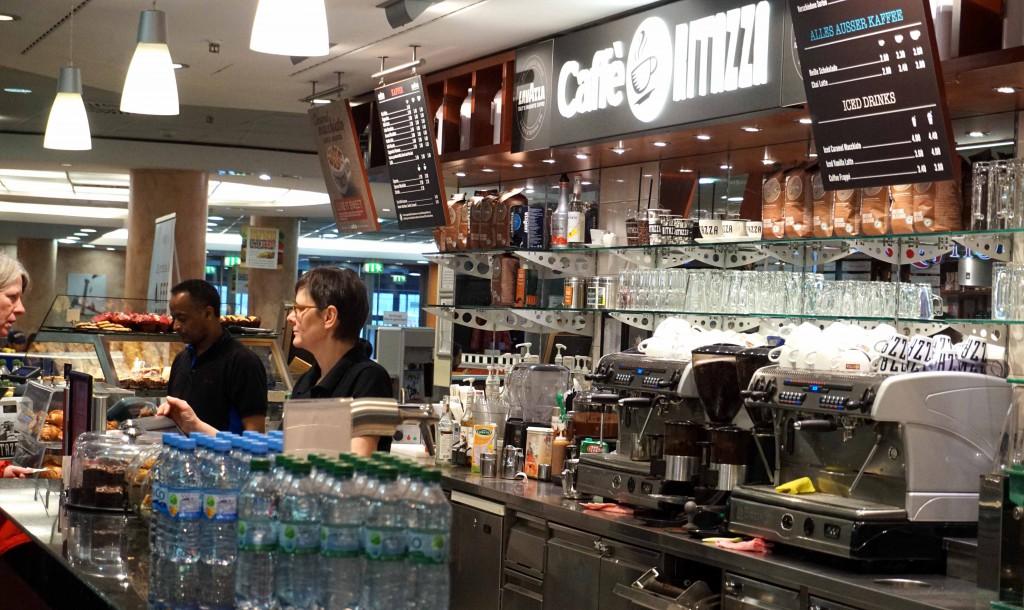 Berlin Cafe Ritazza Hauptbahnhof