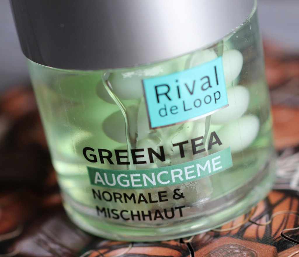 Rival de Loop Green Tea - Augencreme