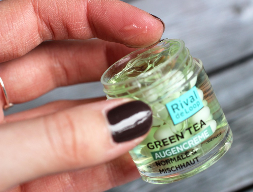 Rival de Loop - Kooperation - Green Tea Augencreme
