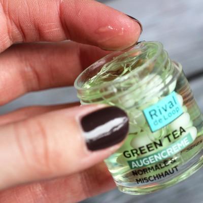 Gel und Kügelchen bei Mischhaut | Rival de Loop Green Tea