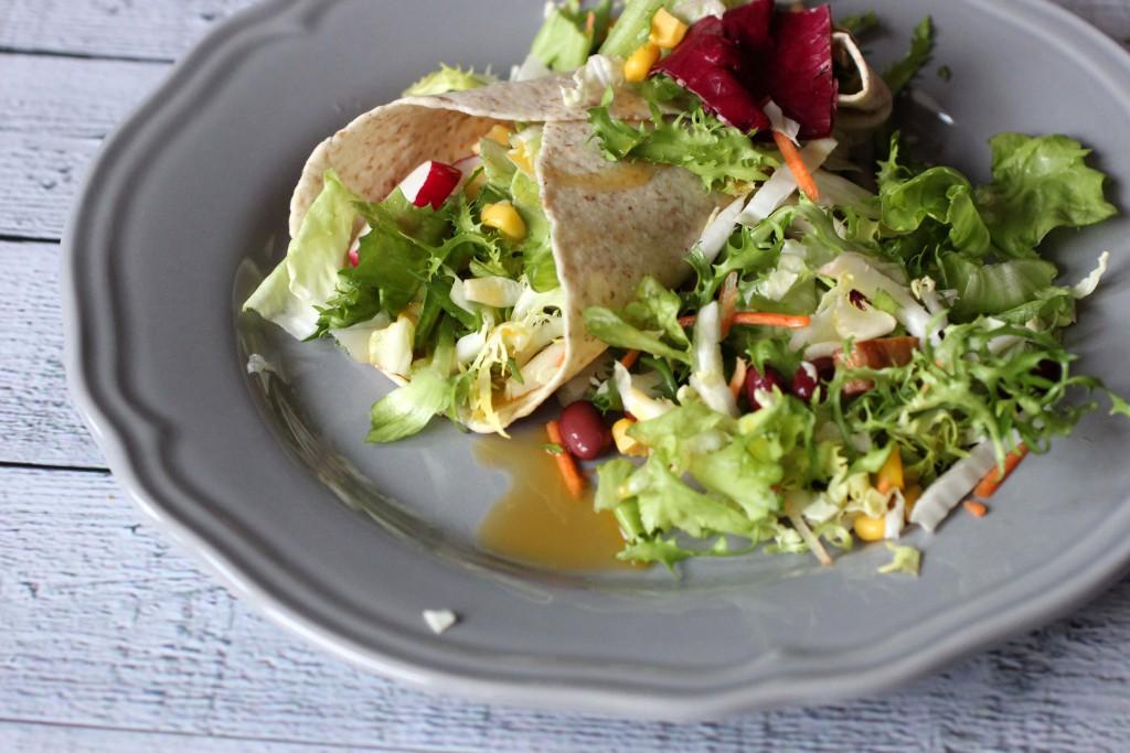 2. Feierabendgerichte - Salat LowCarb Wrap_2