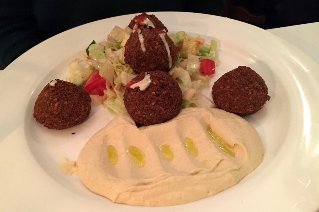 Al Dar Hannover falafel und Hommus
