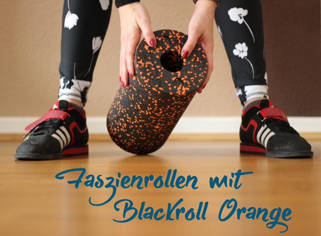 Blackroll Orange Faszienrollen und Faszientraining