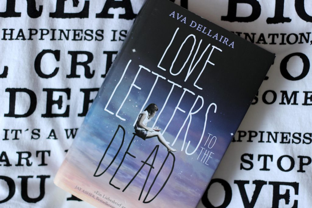 3. Ava Dellaira - Love letters to the Dead