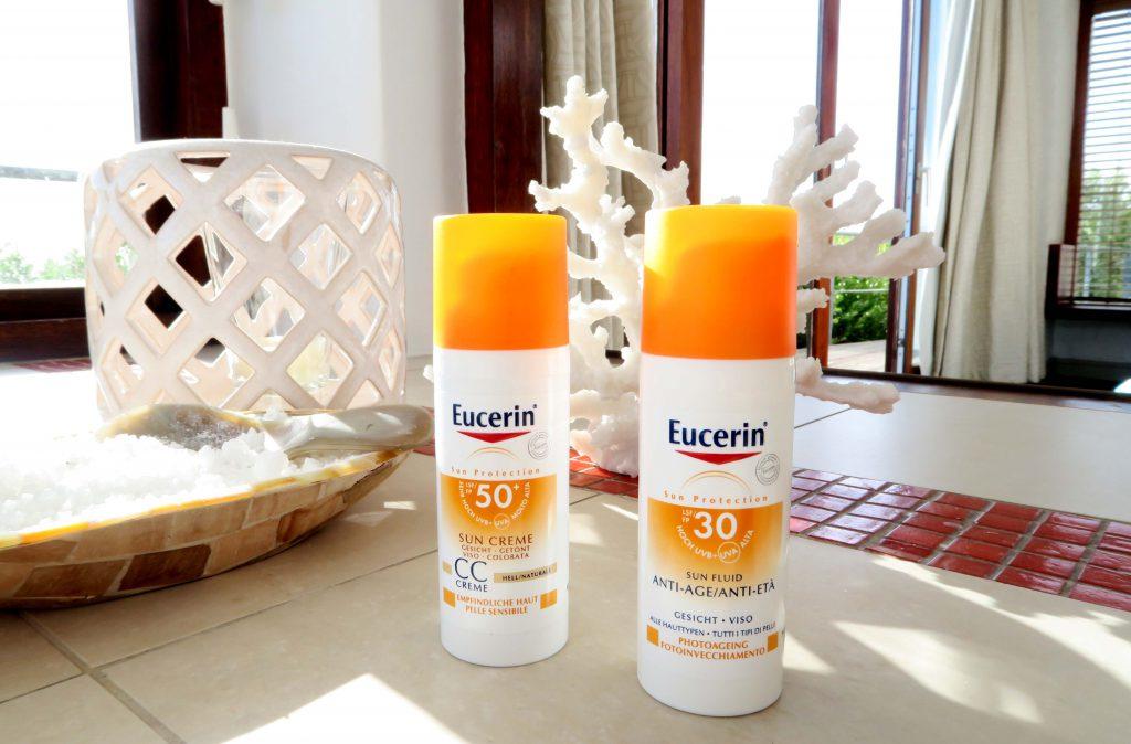 EUCERIN Sun Protect Anti Age und CC Cream 30 und 50+ _3- www.beautybutterflies.de