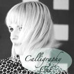 Wie der #CalligraphyCut Volumen und Schwung in die Frisur zaubert