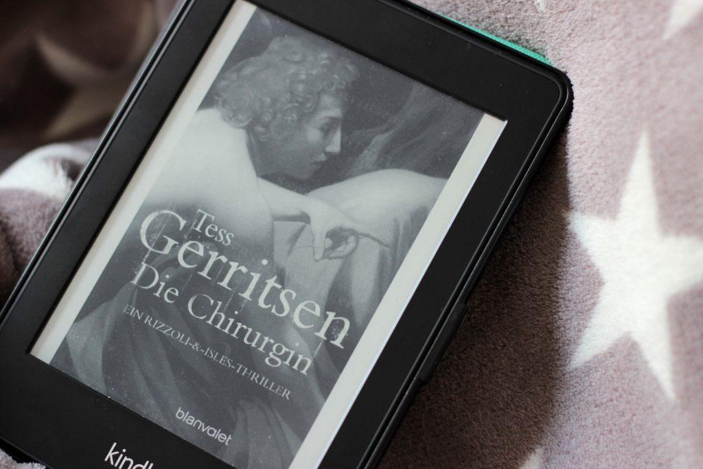 3 Tess Gerritsen - Die Chirurgin Buchrezension - www.beautybutterflies.de