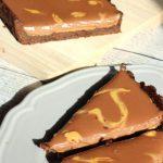 Chocolate-Peanutbutter-Tarte und das vergessene Ei