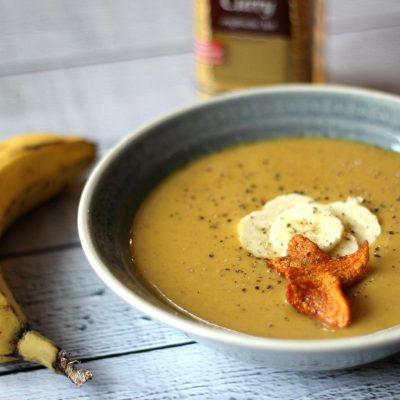 Exotisch auf dem Tisch: Bananen-Süßkartoffel-Suppe
