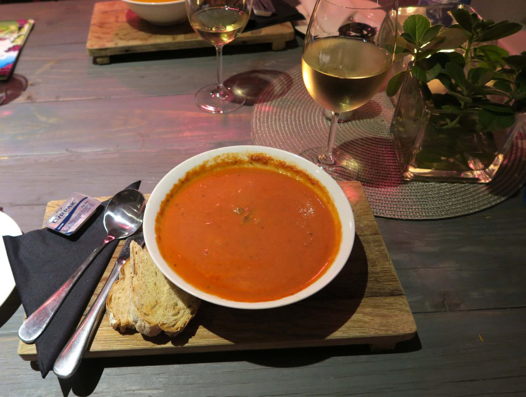Wedgeview Country House and Spa Stellenbosch Tomatensuppe Dinner - www.beautybutterflies.de