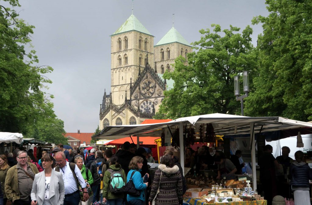 Ein Tag in Muenster Markt am Dom 2 - www.beautybutterflies.de